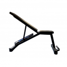 Gravity Z Adjustable Bench with wheels, 4 adjustment angles