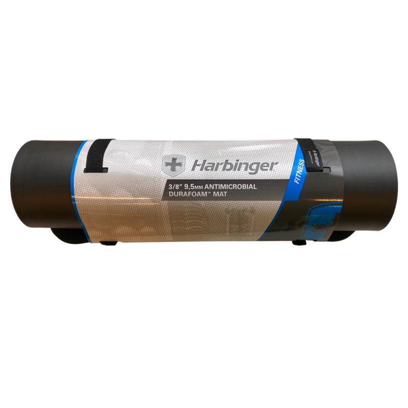 Harbinger Durafoam Mat - Black, 9.5mm, antimicrobial treated